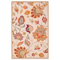 Safavieh Four Seasons Paisley Floral Indoor/Outdoor Area Rug in Ivory/Yellow