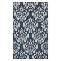 Blue Medallion 8-Foot x 10-Foot Area Rug