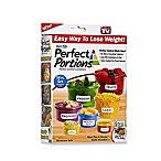 Get Fit Perfect Portions™ 14-Piece Portion Control Food Container Set