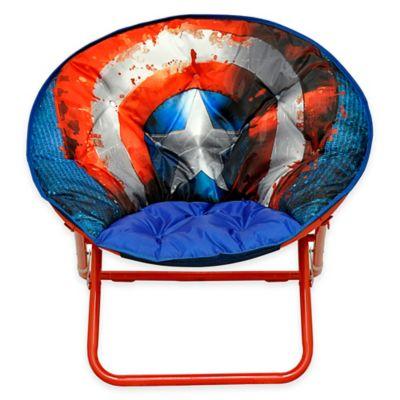 Marvel® Captain America Adult Saucer Chair