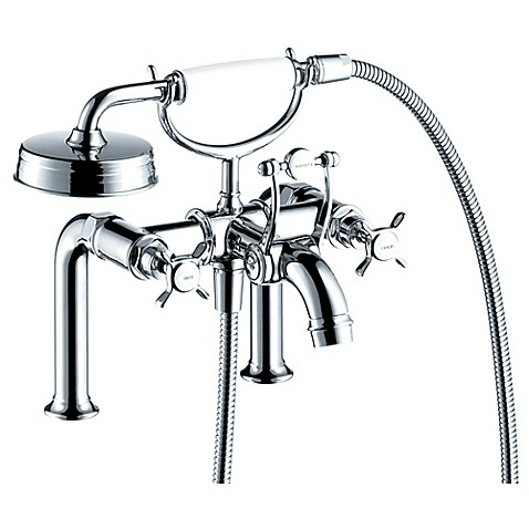 Hansgrohe Axor Montreux 2-Handle Fixed Deck-Mount Tub Faucet - Bed ...