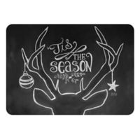 The Softer Side by Weather Guard™ 18-Inch x 27-Inch Tis the Season Deer Kitchen Mat