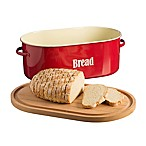 Typhoon® Vintage Bread Box in Red