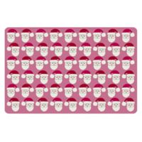 The Softer Side by Weather Guard™ 18-Inch x 27-Inch Mod Santa Kitchen Mat