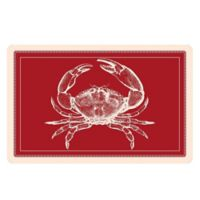 The Softer Side by Weather Guard™ 23-Inch x 36-Inch Red Crab Kitchen Mat
