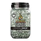 LavaGlass™ Mini Flame Dispersion Stones in Crystal Cove