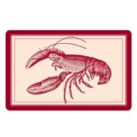 The Softer Side by Weather Guard™ 18-Inch x 27-Inch Lobster Kitchen Mat