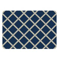 The Softer Side by Weather Guard™ 23-Inch x 36-Inch Nautical Rope Kitchen Mat
