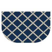 The Softer Side by Weather Guard™ 24-Inch x 40-Inch Nautical Rope Kitchen Mat