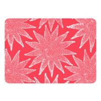 The Softer Side by Weather Guard™ 18-Inch x 27-Inch Nautical White on Coral Kitchen Mat