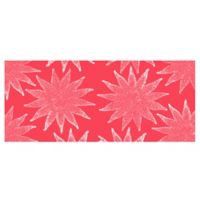 The Softer Side by Weather Guard™ Nautical White on Coral Kitchen Mat