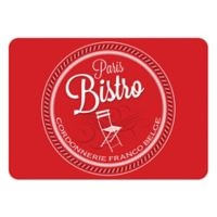 The Softer Side by Weather Guard™ 23-Inch x 36-Inch Parisian Bistro Kitchen Mat