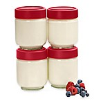 Cuisipro Clear Stackable Jars (Set of 4)