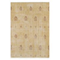 Kaleen Restoration Curio 2-Foot x 3-Foot Accent Rug in Gold