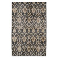 Kaleen Restoration Curio 2-Foot x 3-Foot Accent Rug in Black