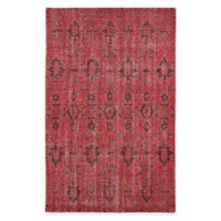 Kaleen Restoration Curio 4-Foot x 6-Foot Area Rug in Red