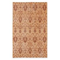 Kaleen Restoration Curio 5-Foot x 8-Foot Area Rug in Paprika