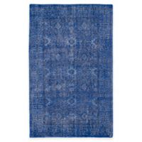 Kaleen Restoration Paulina 4-Foot x 6-Foot Area Rug in Blue