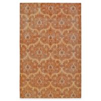 Kaleen Relic Portia 5-Foot 6-inch x 8-Foot Area Rug in Paprika