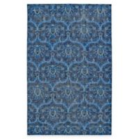 Kaleen Relic Portia 8-Foot x 10-Foot Area Rug in Blue
