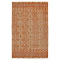 Kaleen Relic Maddox 4-Foot x 6-Foot Area Rug in Orange