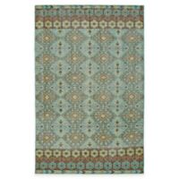 Kaleen Relic Maddox 4-Foot x 6-Foot Area Rug in Turquoise