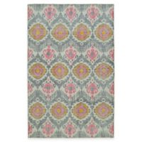 Kaleen Relic Ikat 2-Foot x 3-Foot Accent Rug in Grey
