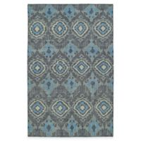 Kaleen Relic Ikat 8-Foot x 10-Foot Area Rug in Charcoal