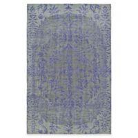 Kaleen Relic Iris 5-Foot 6-Inch x 8-Foot Area Rug in Purple