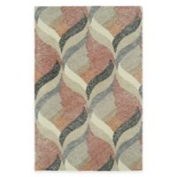 Kaleen Montage Hourglass 8-Foot x 10-Foot Area Rug in Ivory
