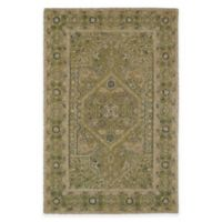 Kaleen Montage Center Medallion 2-Foot x 3-Foot Accent Rug in Green