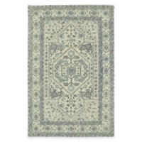 Kaleen Montage Center Medallion 2-Foot x 3-Foot Accent Rug in Ivory