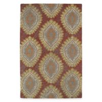 Kaleen Montage Medallions 5-Foot x 7-Foot 9-Inch Area Rug in Red