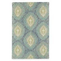 Kaleen Montage Medallions 5-Foot x 7-Foot 9-inch Area Rug in Blue