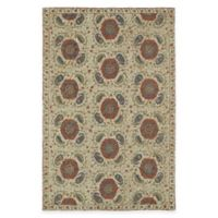 Kaleen Montage Tiles 5-Foot x 7-Foot 9-inch Area Rug in Camel