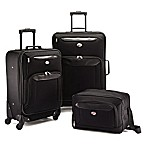 American Tourister® Brookfield 3-Piece Luggage Set in Black