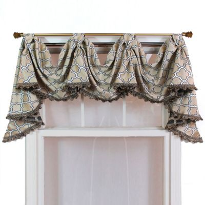 Buy swags valances from bed bath beyond - Swag valances for bathroom windows ...