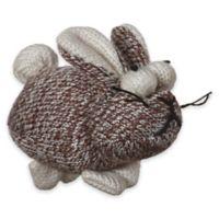 Multipet™ Sock Pals Rabbit Catnip Cat Toy in Brown/Cream