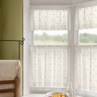 Daisy 30-Inch Window Curtain Tier in Ivory
