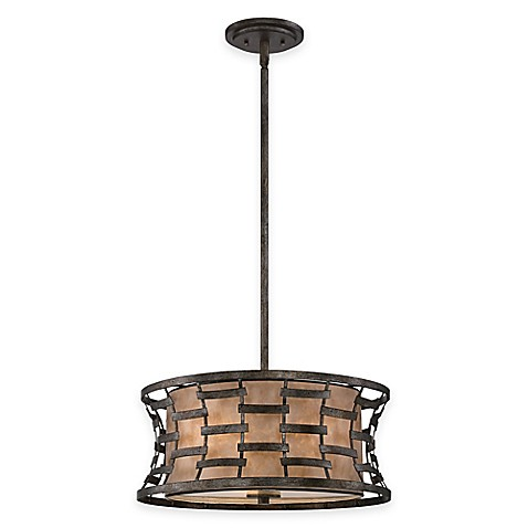 Buy Quoizel Morrow 3 Light Pendant Ceiling Fixture In