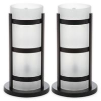 Safavieh Minter Hurricane Table Lamp in Black
