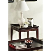 Steve Silver Co. Clemson End Table in Merlot Cherry