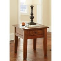 Steve Silver Co. Desoto End Table in Oak