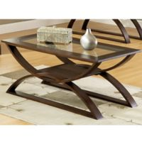 Steve Silver Dylan Occasional Cocktail Table in Cherry