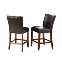 Steve Silver Co. Montibello Counter Chairs in Brown (Set of 2)