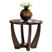 Steve Silver Co. Rafael End Table in Merlot