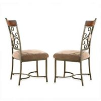 Steve Silver Co. Thompson Side Chairs in Beige (Set of 2)