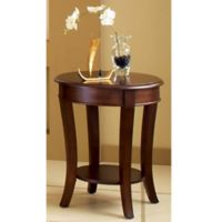 Steve Silver Co. Troy End Table in Brown