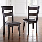 Steve Silver Co. Victoria Side Chairs in Espresso (Set of 2)