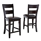 Steve Silver Co. Victoria Counter Chairs in Espresso (Set of 2)